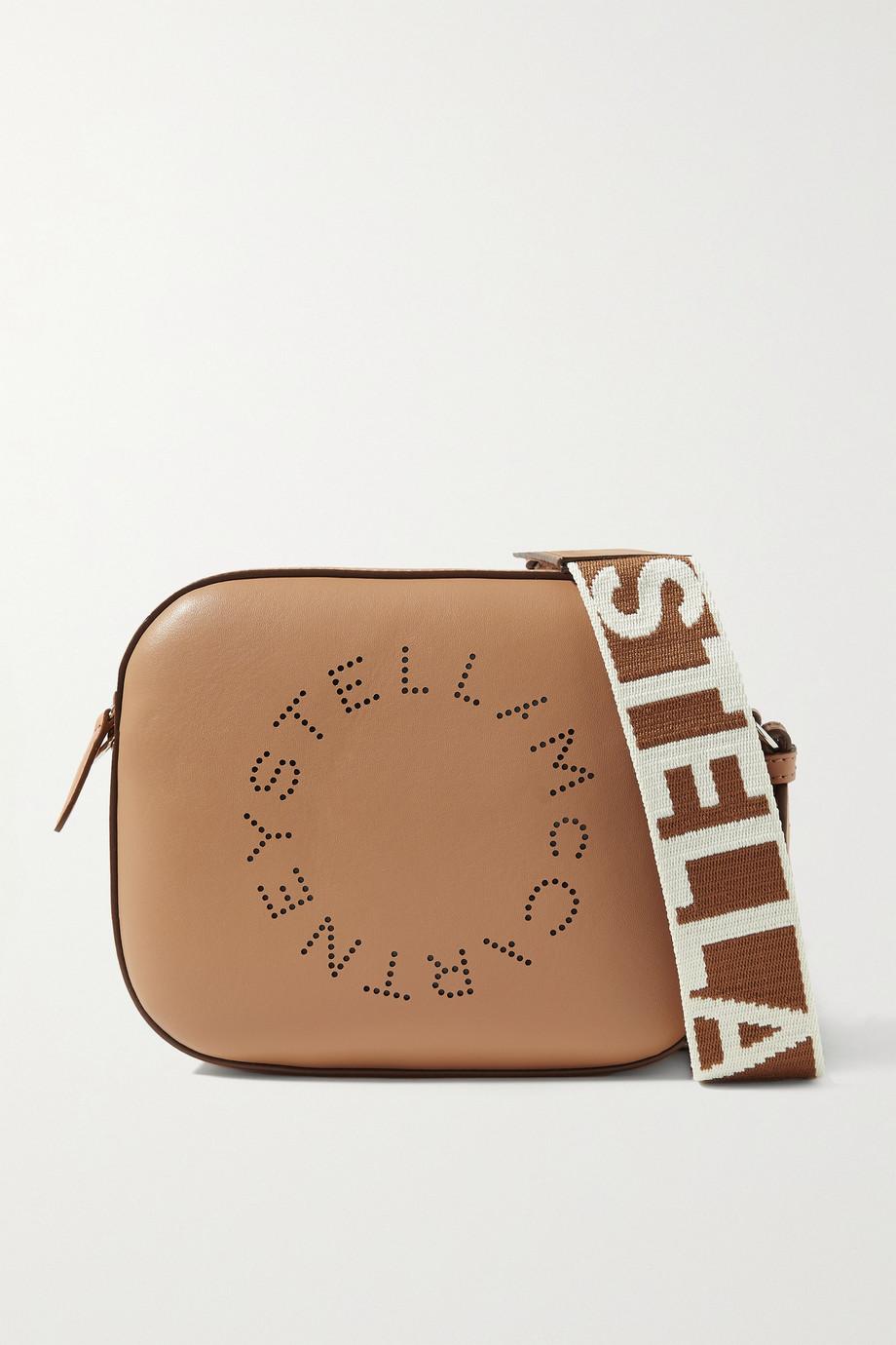 Stella McCartney Sac porté épaule en cuir végétarien à perforations