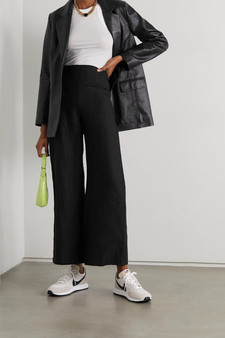 Faithfull The Brand + NET SUSTAIN Sibyl linen wide-leg pants