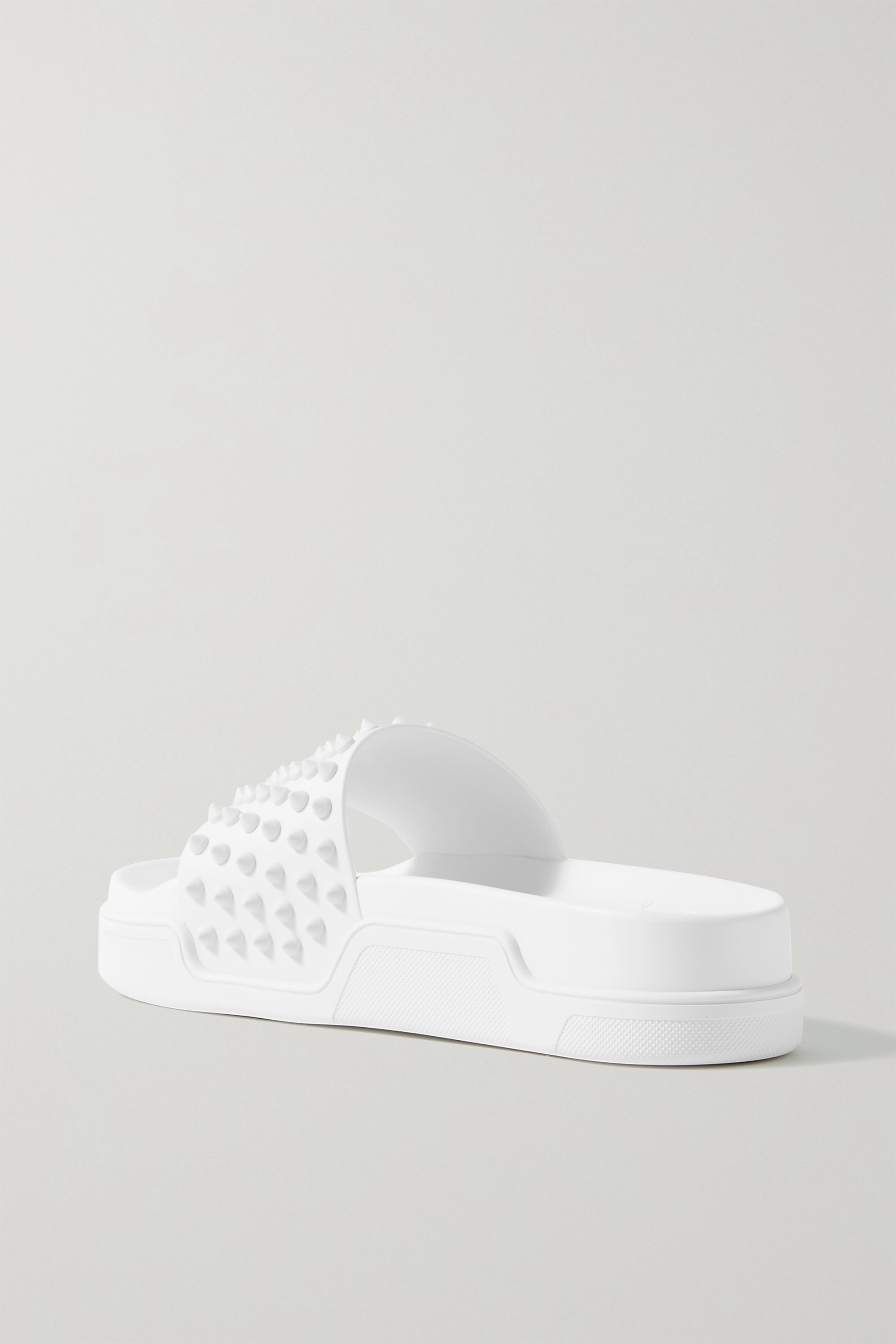 Christian Louboutin Pool Fun Donna 35 spiked leather slides