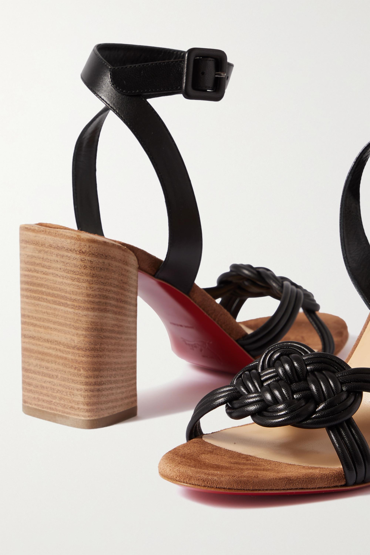 Christian Louboutin Ella 85 leather sandals