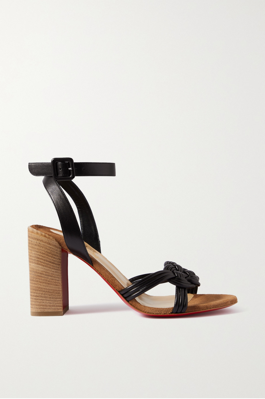 Christian Louboutin Ella 85 leather sandals