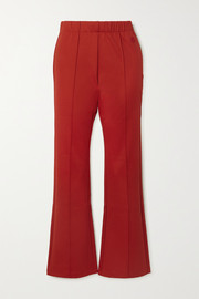 Tory Sport Stretch-jersey flared pants