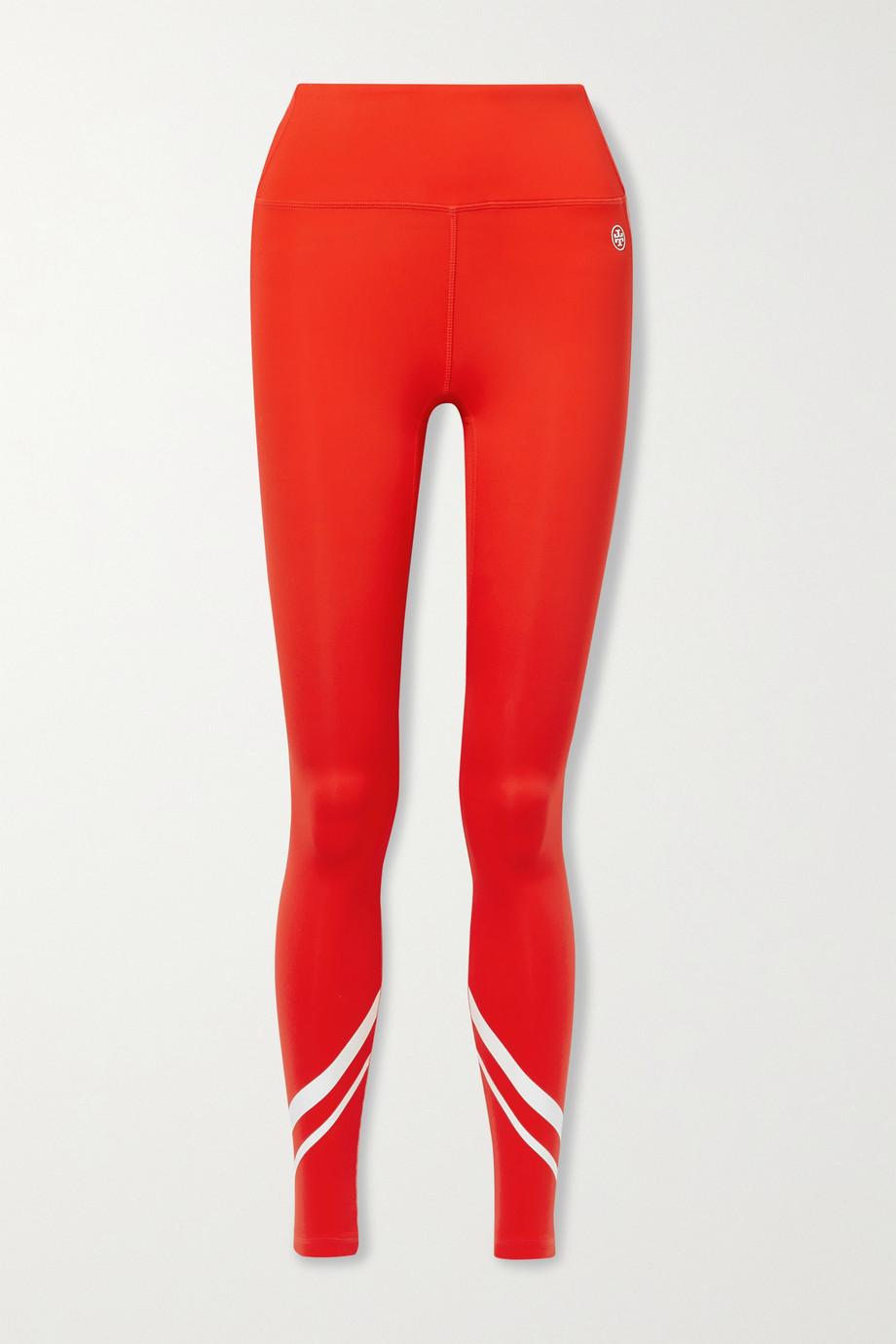 Tory Sport Legging en jersey stretch imprimé