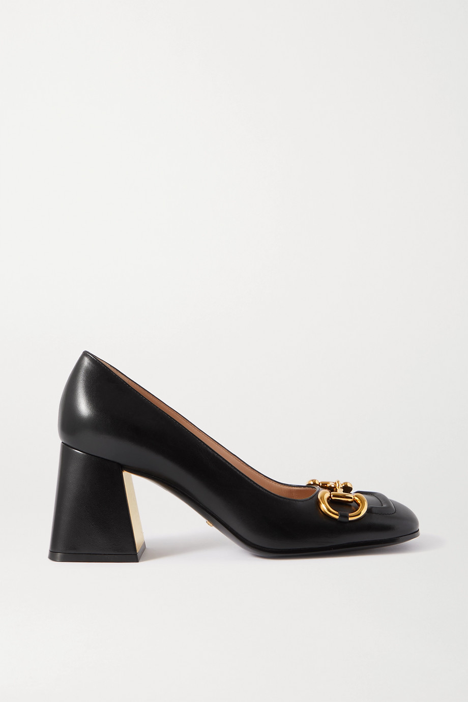 Gucci Horsebit-detailed leather pumps