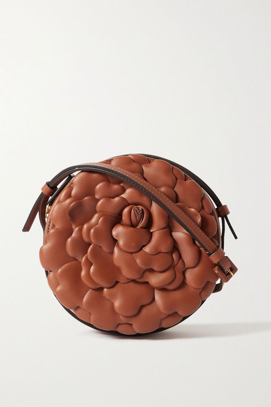 Valentino Sac porté épaule en cuir 03 Rose Edition Atelier Valentino Garavani
