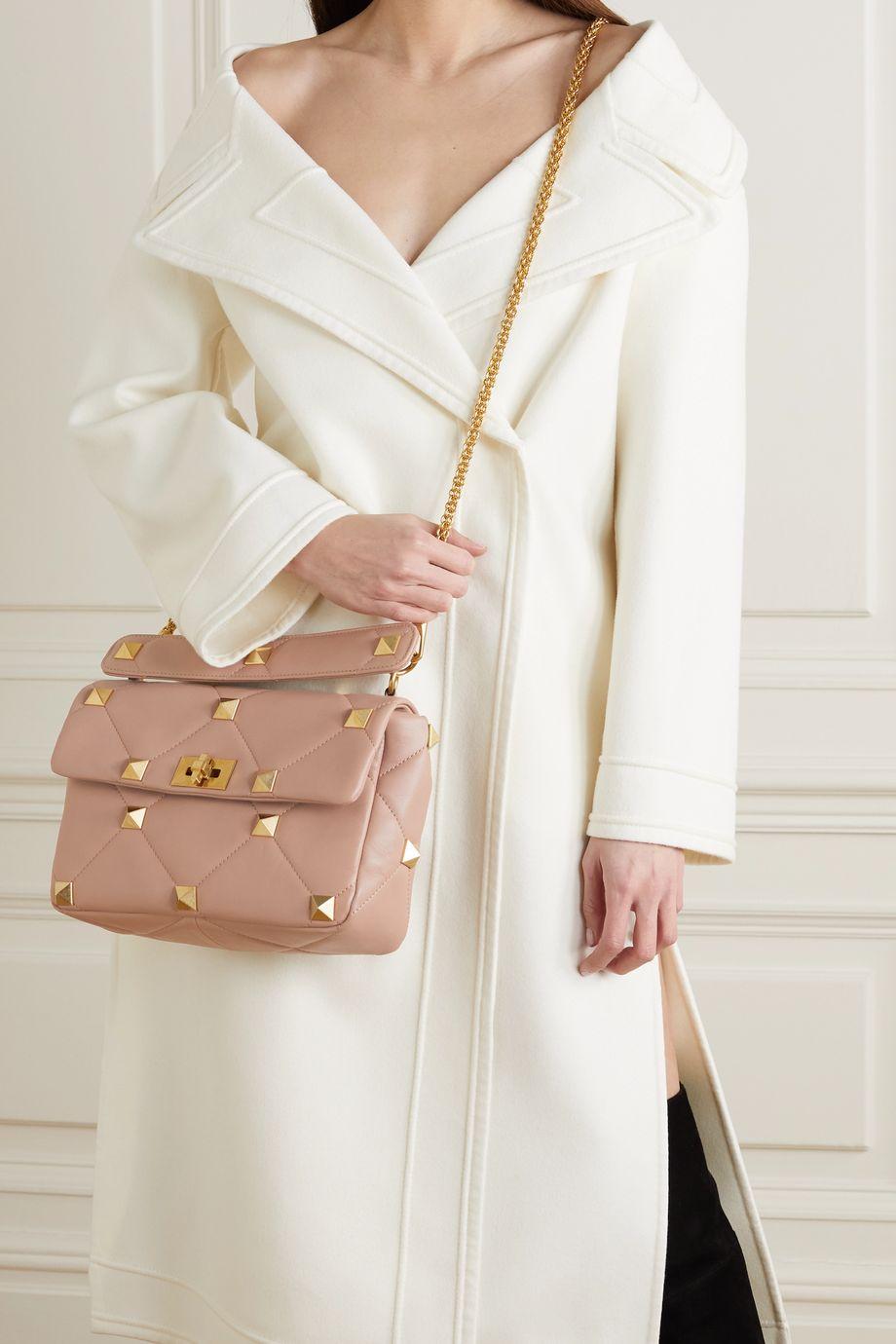 Valentino Valentino Garavani Roman Stud quilted leather shoulder bag