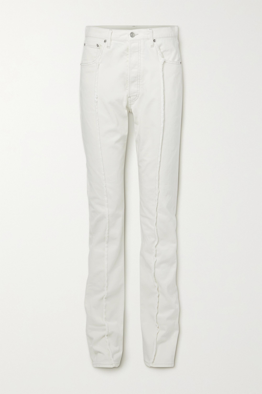 Maison Margiela - White Bull boyfriend jeans
