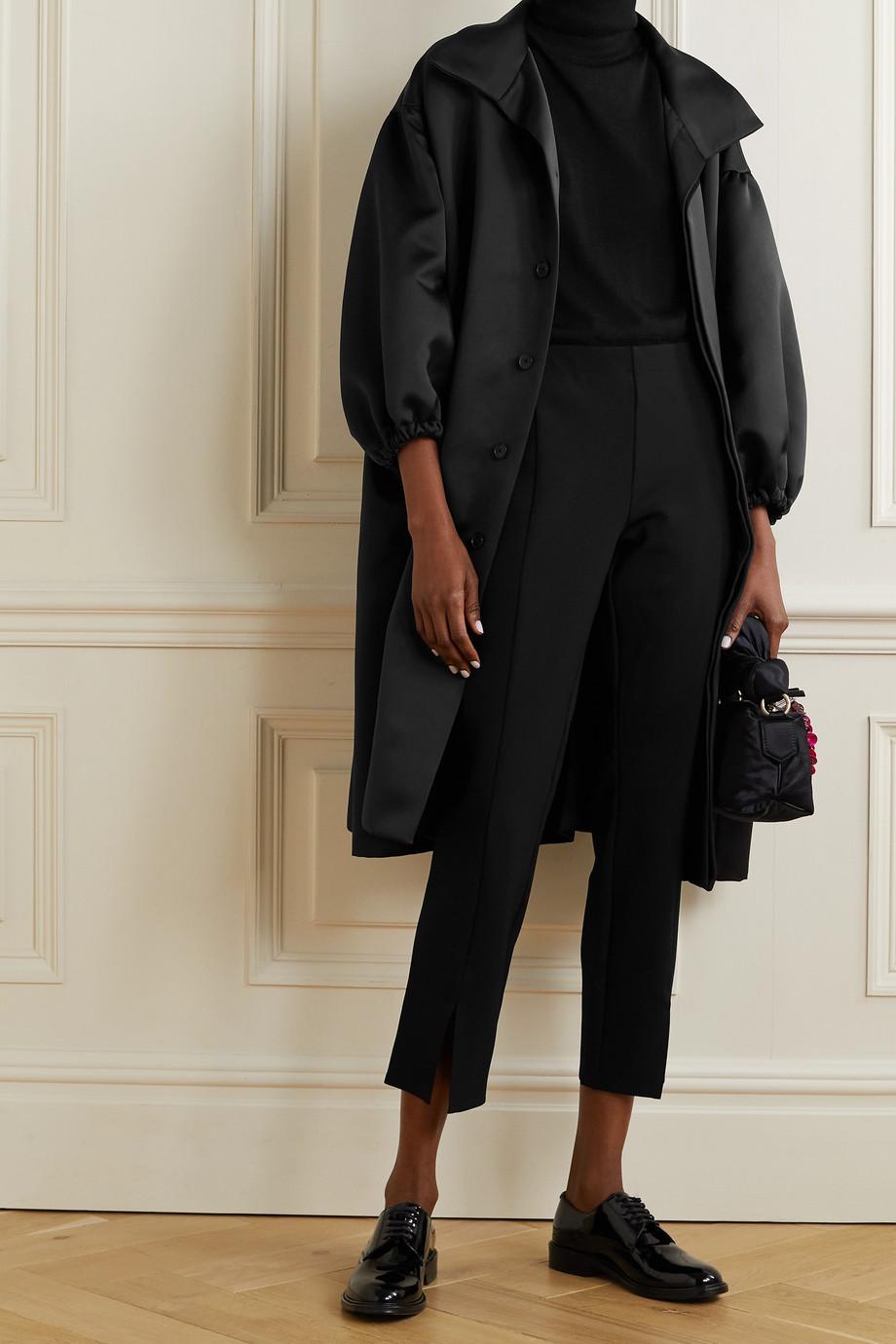 Maison Margiela Oversized duchesse-satin coat