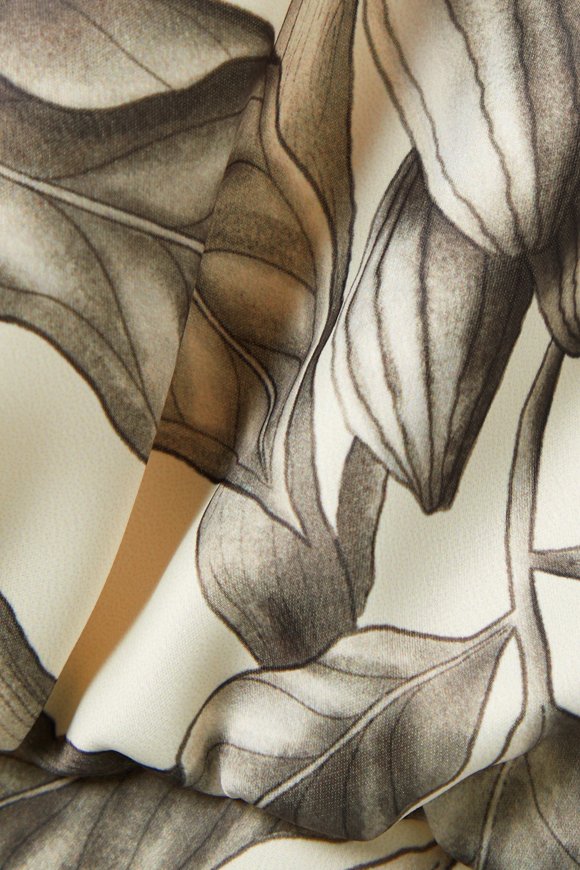 Johanna Ortiz + NET SUSTAIN Rewarding Journey floral-print recycled satin halterneck midi dress