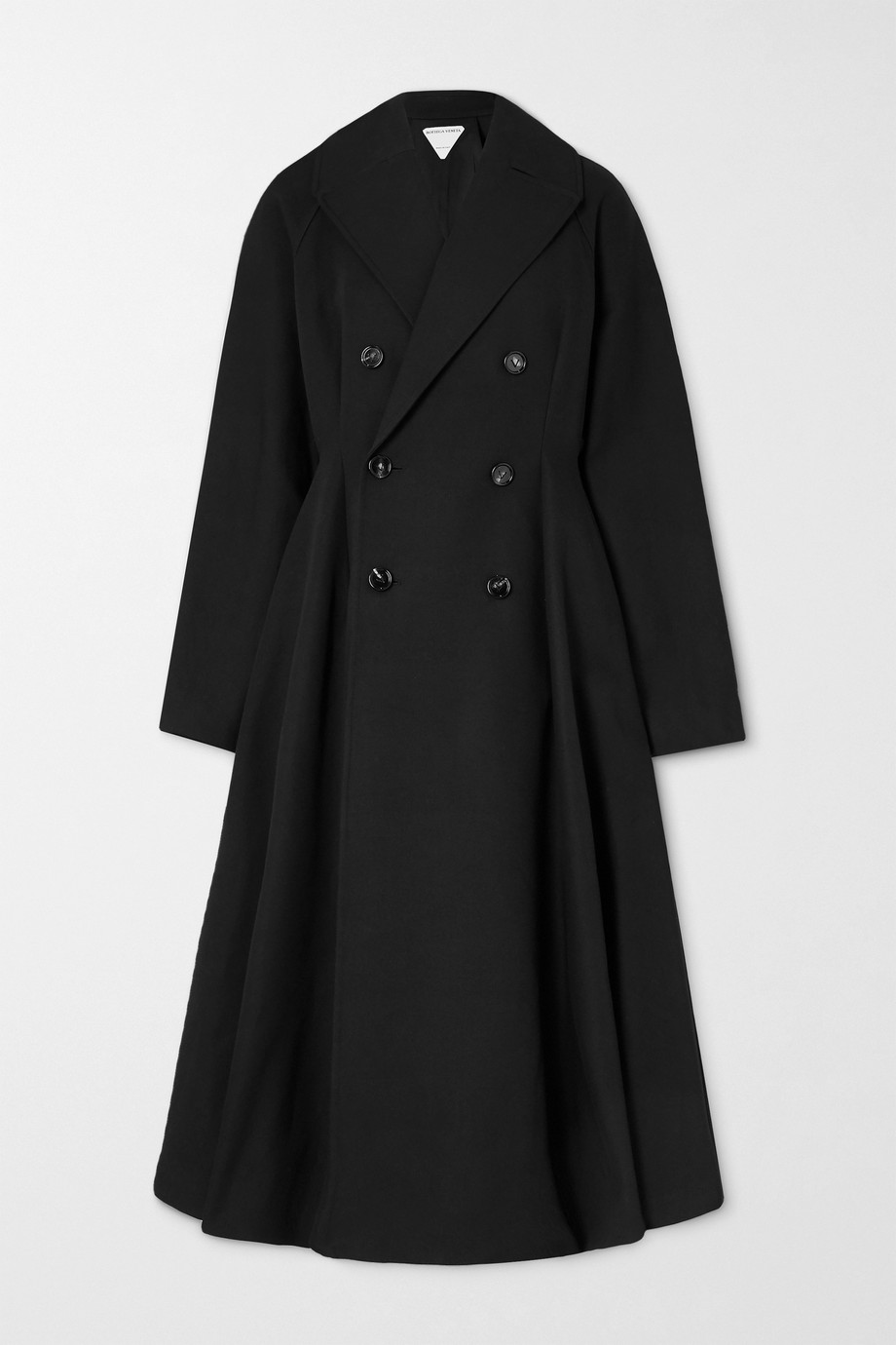 Bottega Veneta Belted double-breasted cotton-canvas trench coat