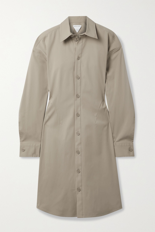 Bottega Veneta Dresses STRETCH-COTTON POPLIN SHIRT DRESS