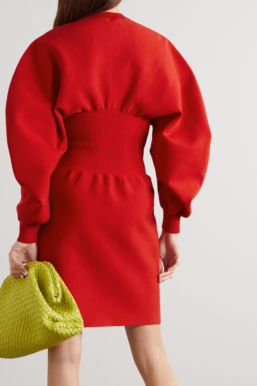 Bottega Veneta Wool-blend mini dress