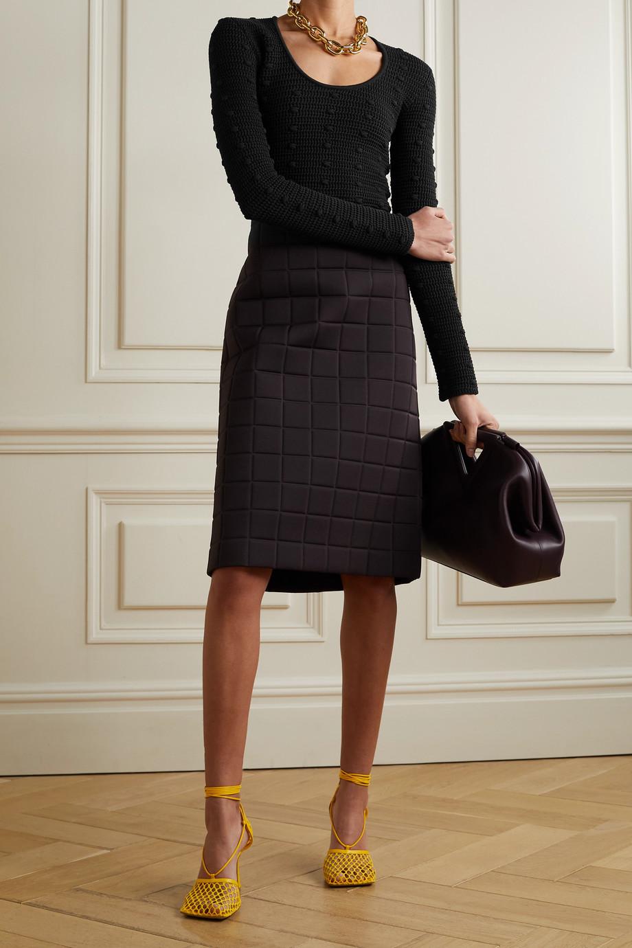 Bottega Veneta Gehäkelter Pullover aus Baumwolle