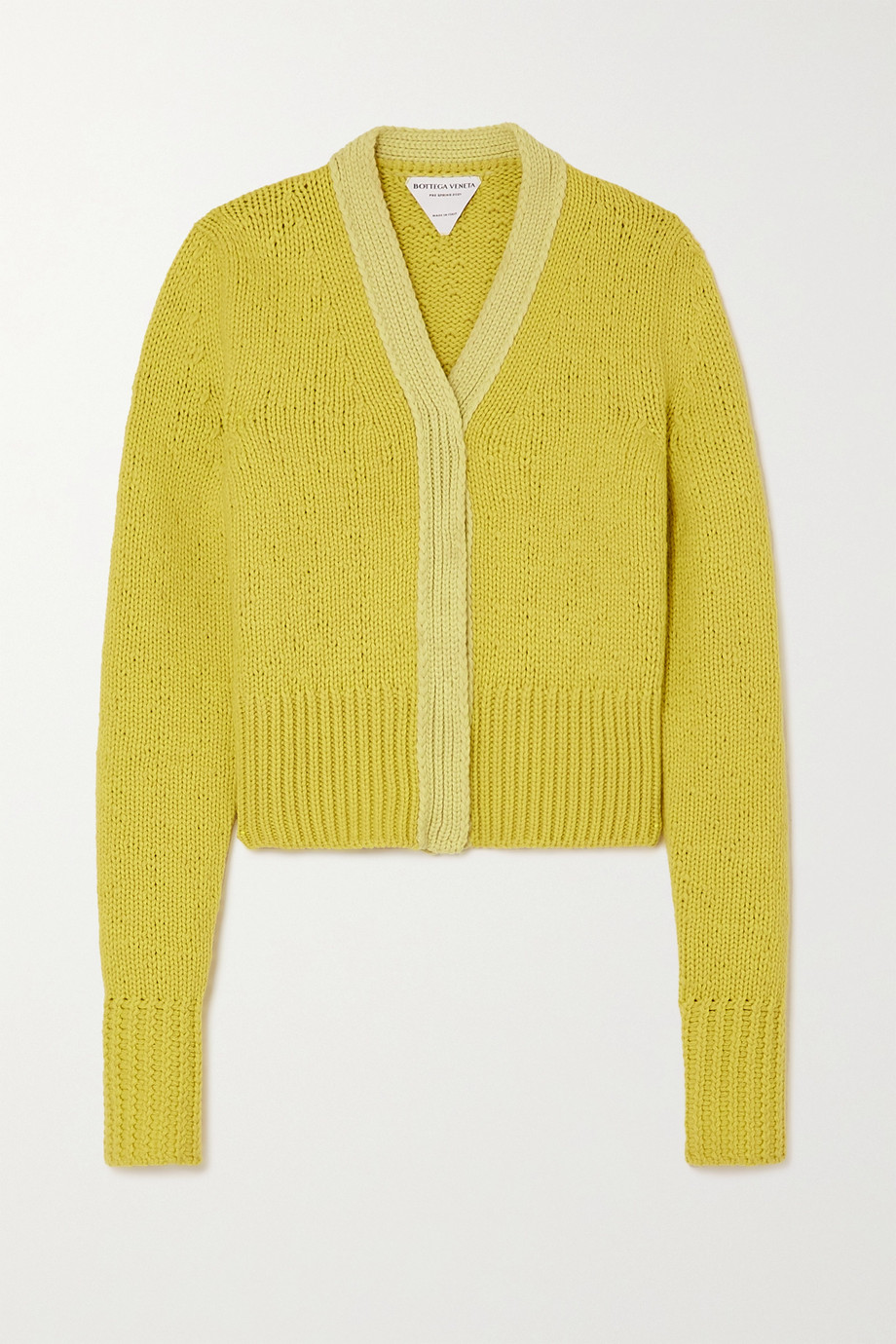 Bottega Veneta Wool and cashmere-blend cardigan