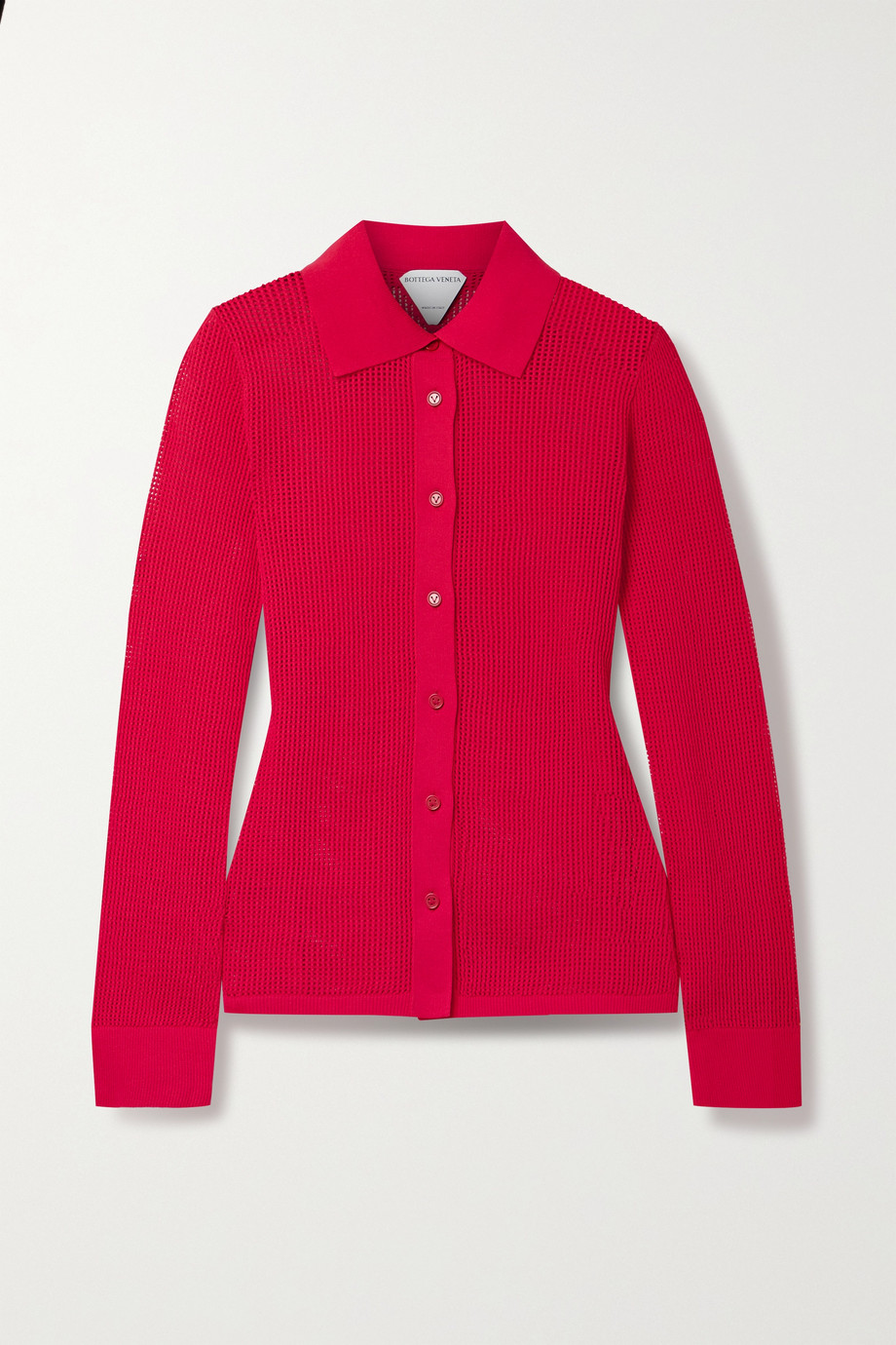 Bottega Veneta Open-knit shirt