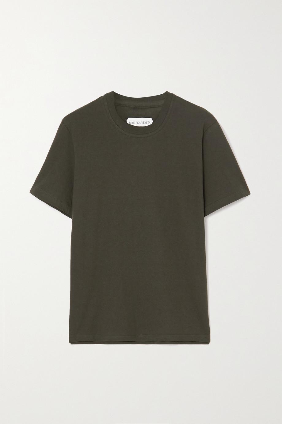 Bottega Veneta T-shirt en jersey de coton lavé