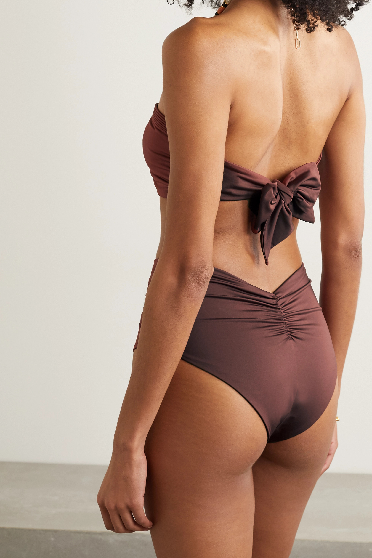 Johanna Ortiz + NET SUSTAIN Amazonia bandeau bikini top