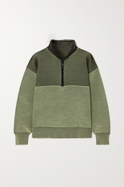 Nagnata + Space for Giants Zhen ribbed organic cotton sweatshirt