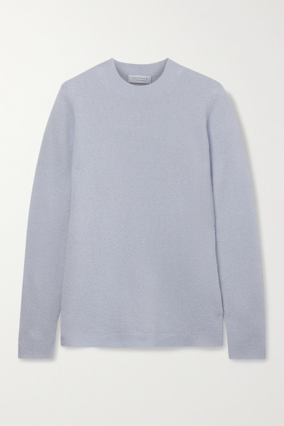 Gabriela Hearst Harius cashmere and silk-blend bouclé sweater