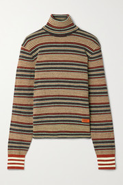 adidas Originals + Wales Bonner striped chenille turtleneck sweater