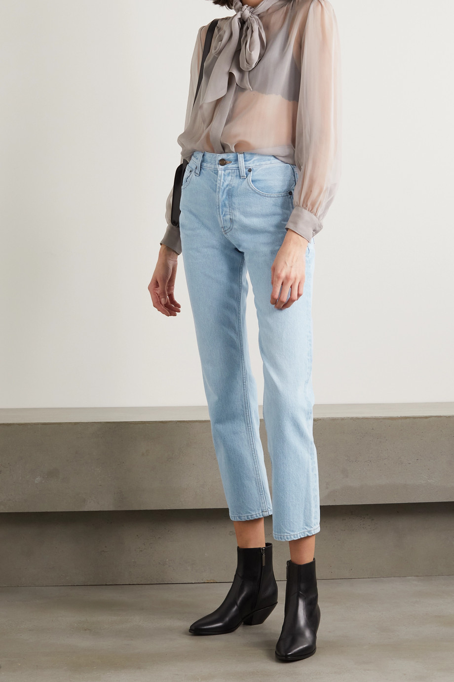 SAINT LAURENT Boyfriend-Jeans