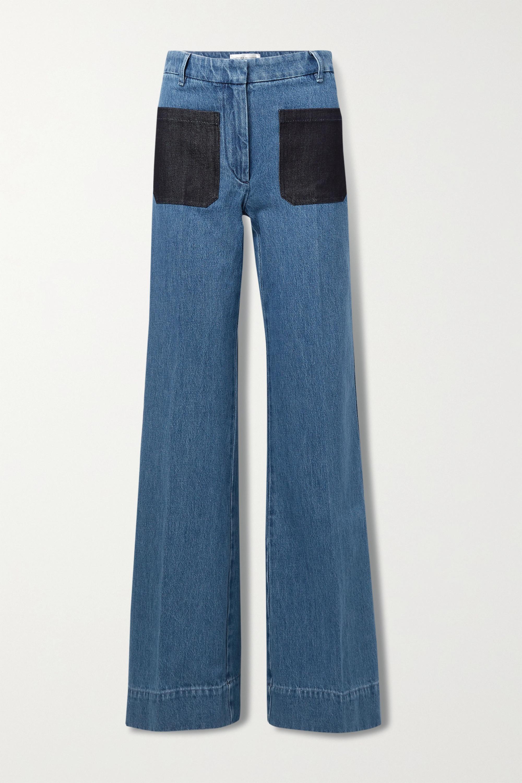 Victoria Beckham High-rise wide-leg jeans