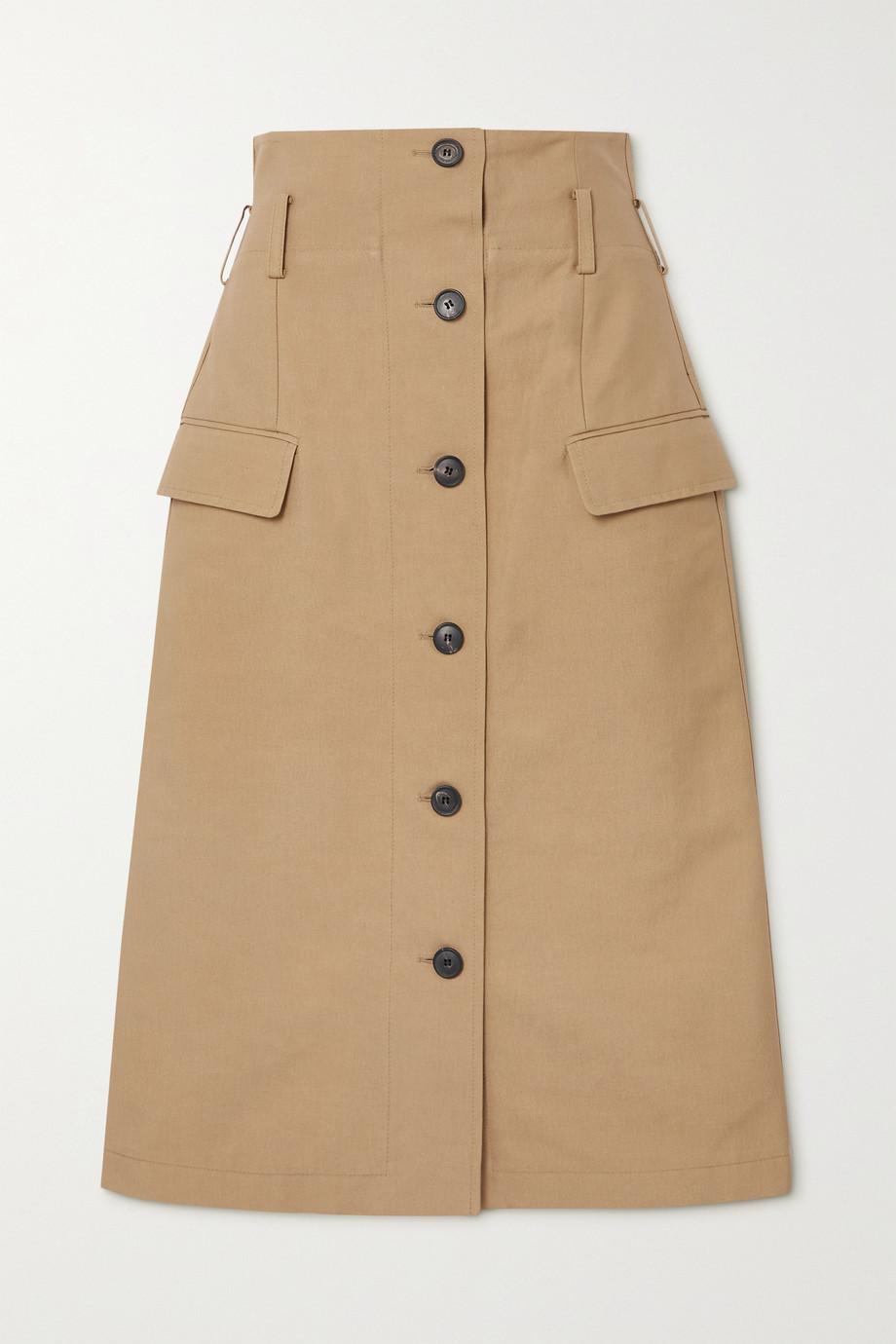 Victoria Beckham Cotton-blend skirt