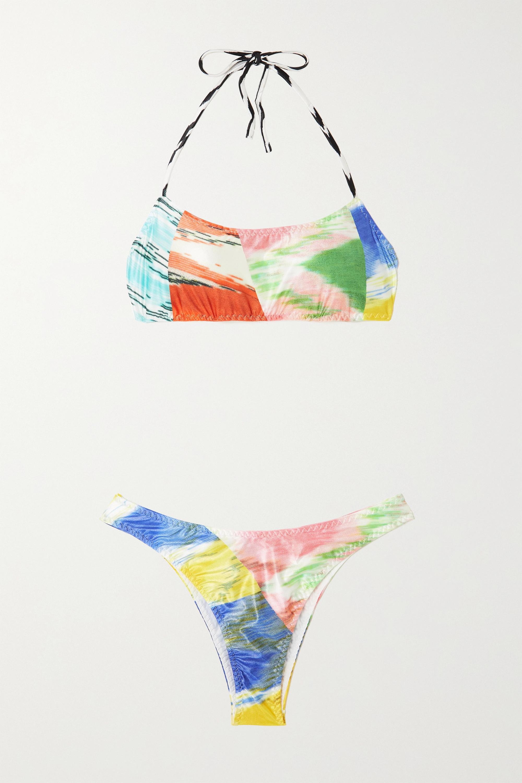 Missoni Mare printed halterneck bikini