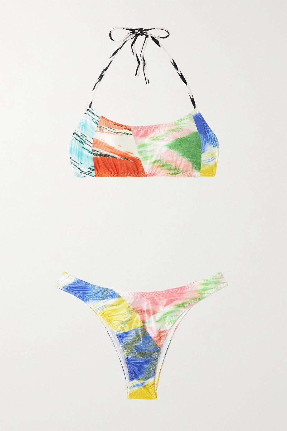 Missoni Mare bedruckter Neckholder-Bikini