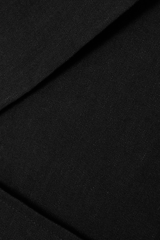 Jacquemus Mini-robe en chanvre mélangé à superposition et à découpe Gardian