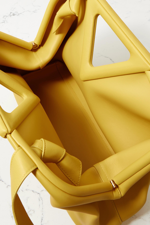 Bottega Veneta Triangle medium leather tote