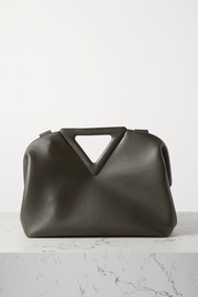 Bottega Veneta Triangle medium leather tote