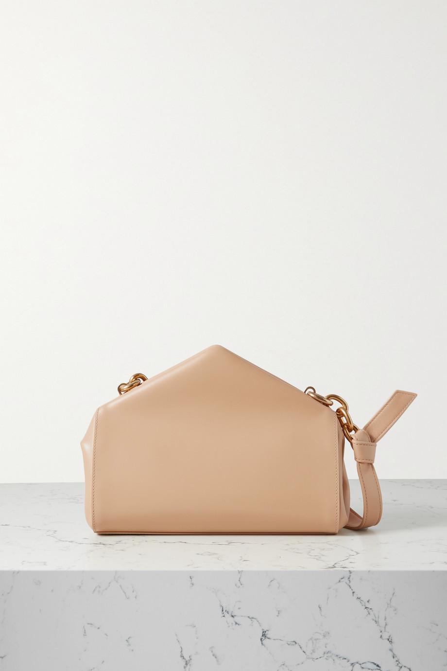 Bottega Veneta A Triangle small leather shoulder bag
