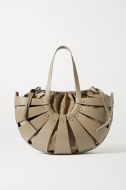 Bottega Veneta The Shell medium leather shoulder bag