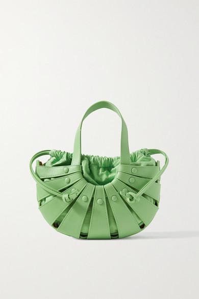 Bottega Veneta Bags THE SHELL SMALL LEATHER SHOULDER BAG