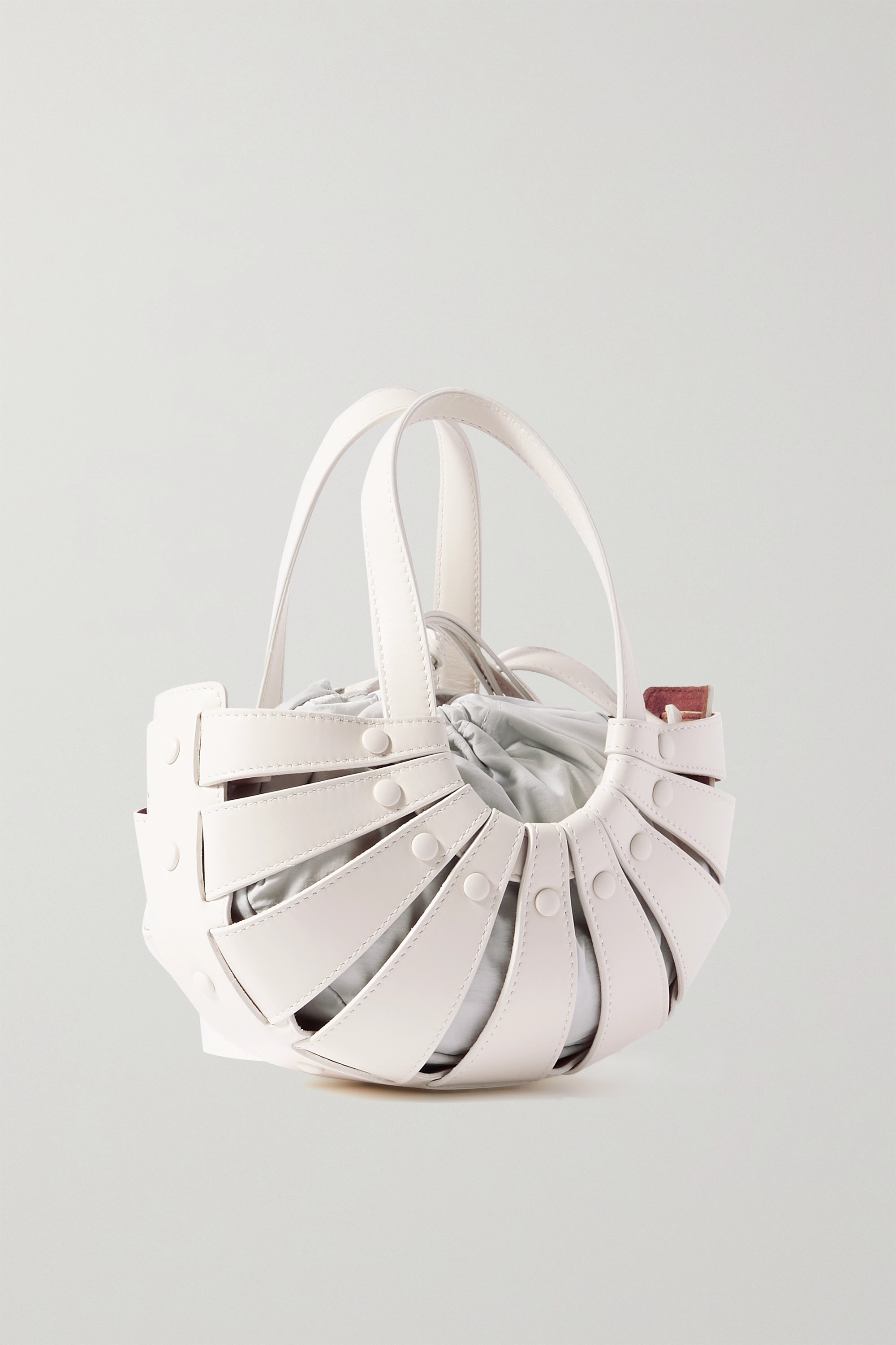 Bottega Veneta The Shell small leather shoulder bag