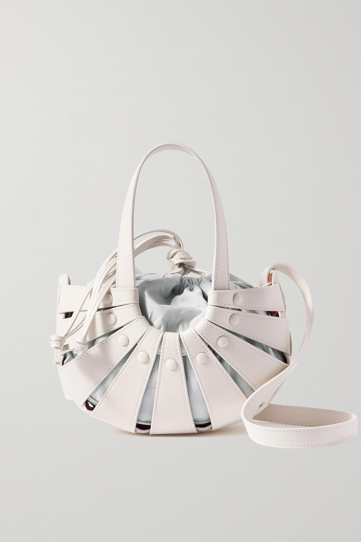 Bottega Veneta Sac porté épaule en cuir The Shell Small