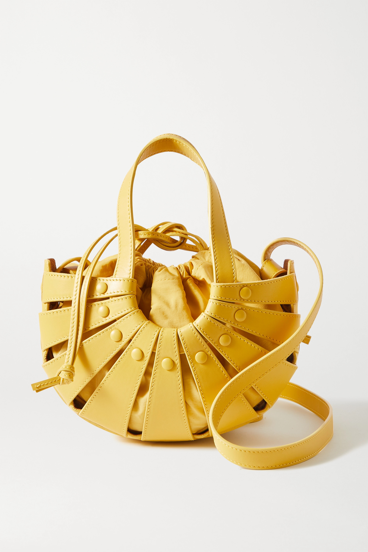 Bottega Veneta The Shell leather shoulder bag