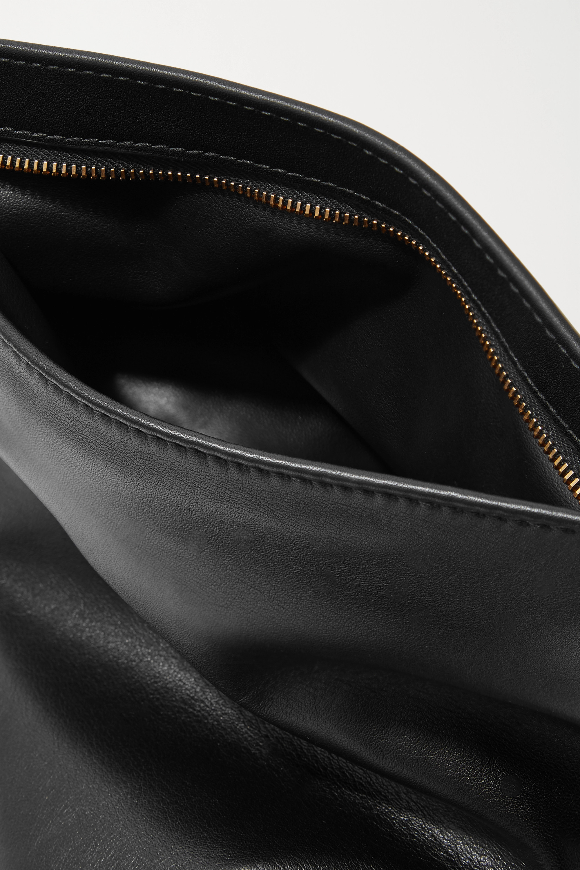 Bottega Veneta The Mini Twist knotted leather clutch