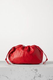 Bottega Veneta The Medium Bulb gathered leather tote