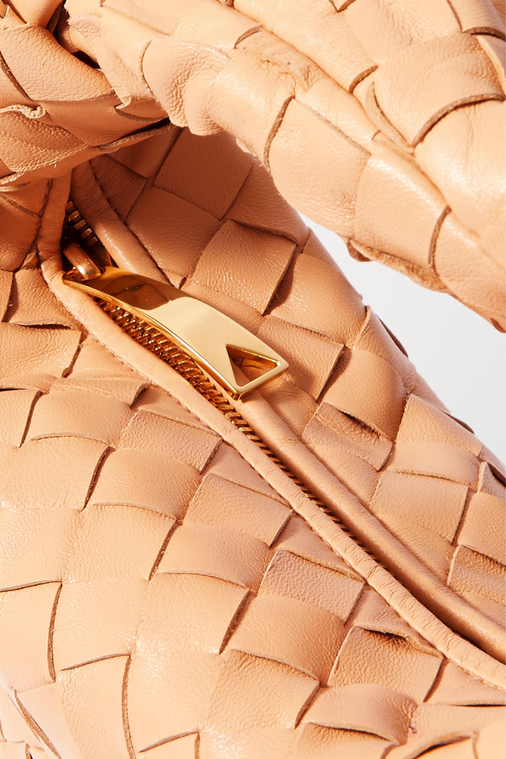 Bottega Veneta Sac à main en cuir intrecciato à nœud Jodie Mini