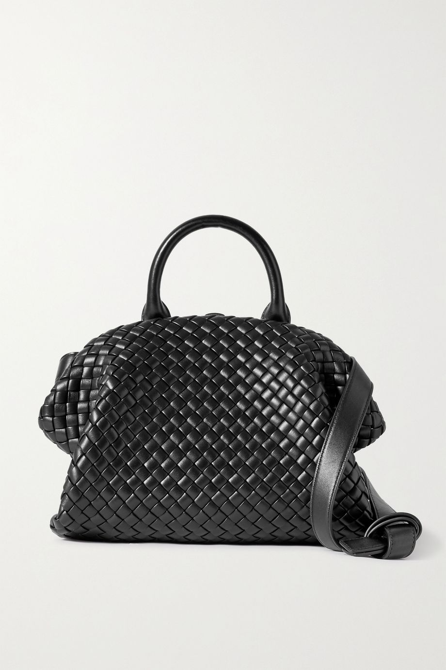 Bottega Veneta The Handle small intrecciato leather tote