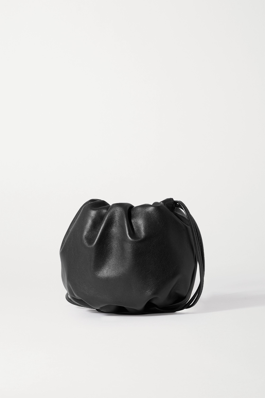 Bottega Veneta Sac porté épaule en cuir à fronces The Mini Bulb