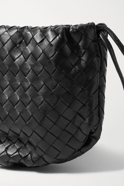 Bottega Veneta Sac porté épaule en cuir intrecciato à fronces The Mini Bulb