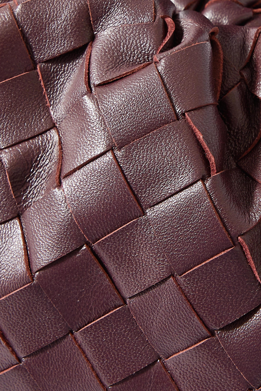 Bottega Veneta The Pouch small intrecciato leather clutch