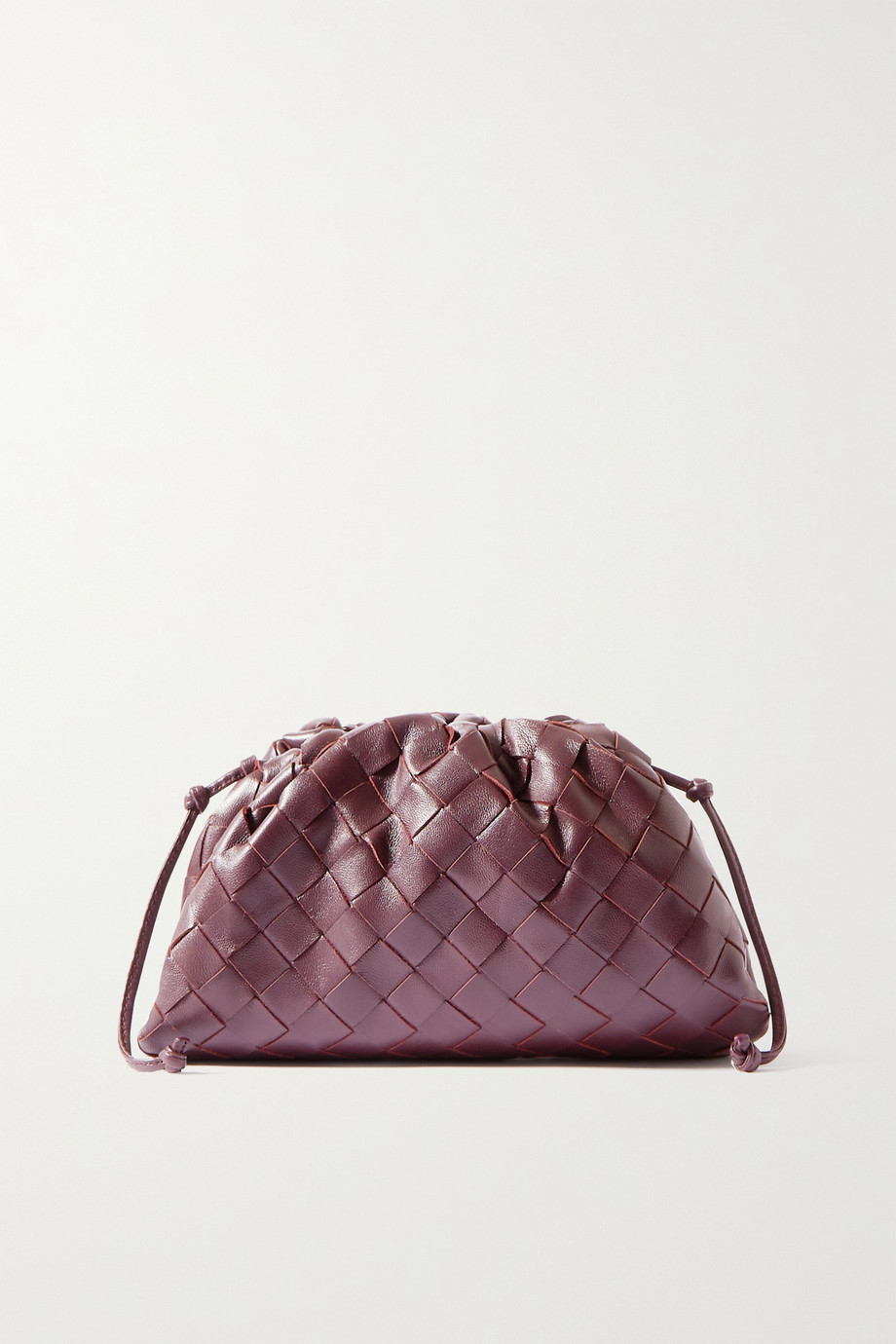 Bottega Veneta The Pouch small intrecciato leather clutch