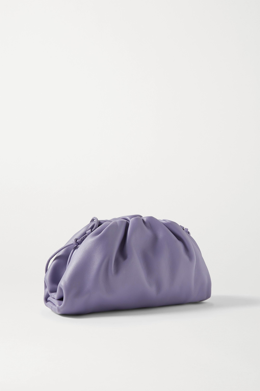 Bottega Veneta Pochette en cuir à fronces The Pouch Small