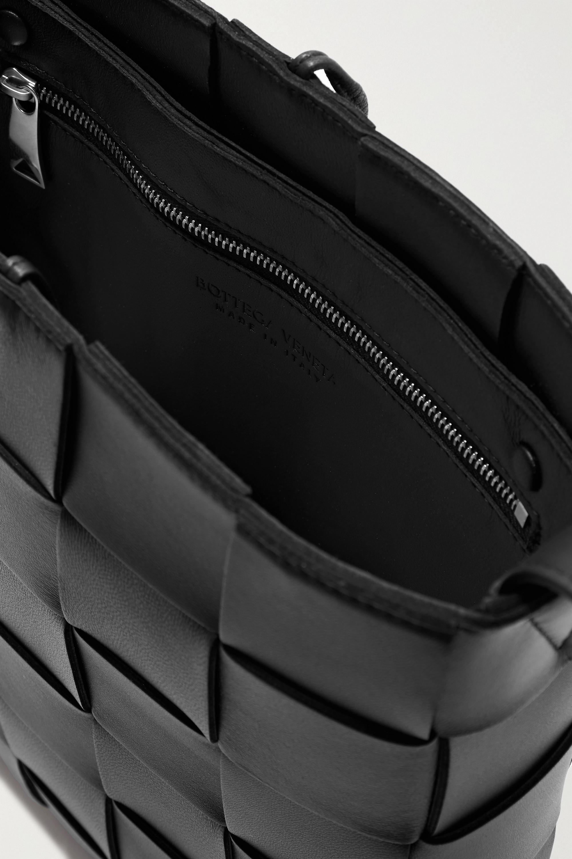 Bottega Veneta Sac porté épaule en cuir intrecciato Cassette Messenger