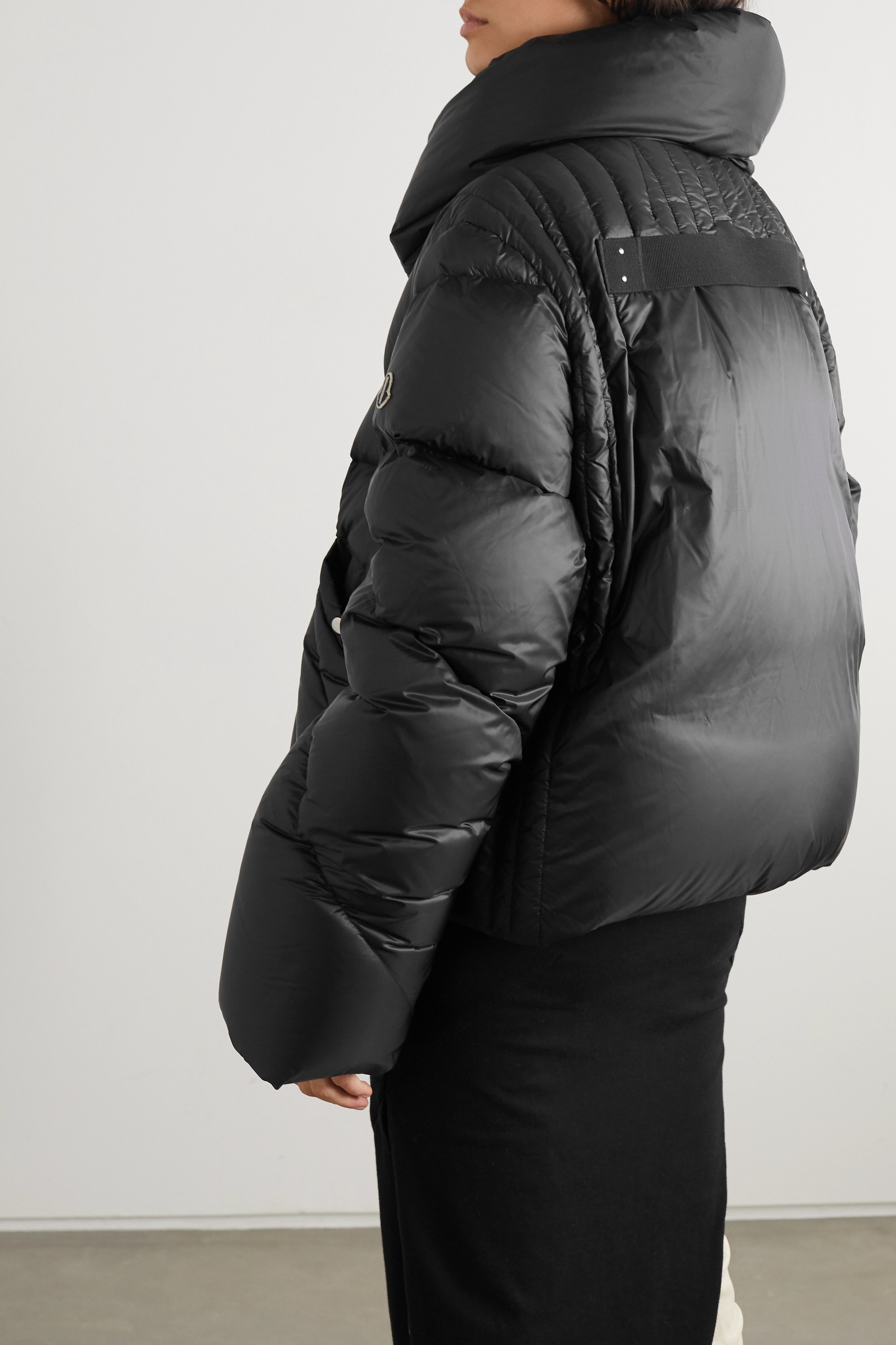 Moncler + Rick Owens Tonopah quilted shell down jacket