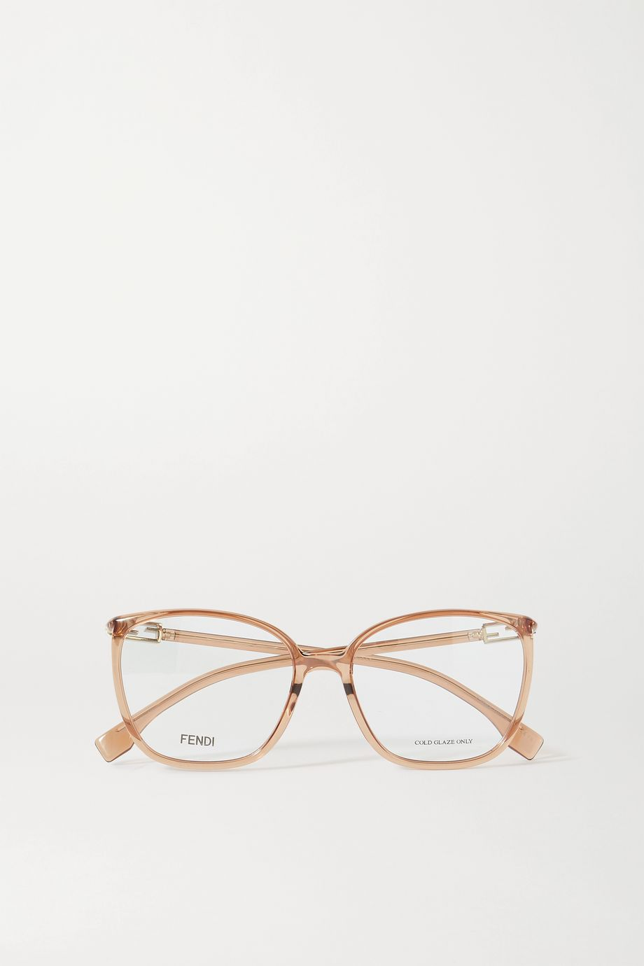 Fendi Square-frame acetate optical glasses